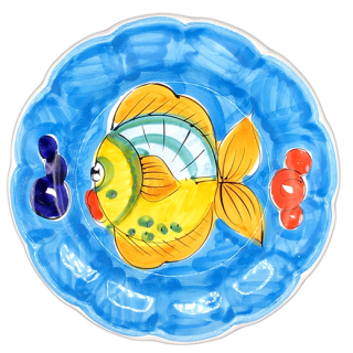 <img class='new_mark_img1' src='https://img.shop-pro.jp/img/new/icons14.gif' style='border:none;display:inline;margin:0px;padding:0px;width:auto;' />Lunch plate -魚B-(スカイブルー)