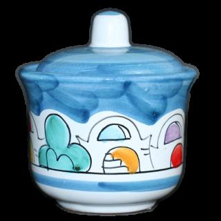 Sugar pot  -ナイフ-(コバルトブルー)