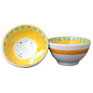 Bowl 9cm -魚A-(イエロー)