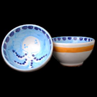 Bowl 9cm -タコA-(水色)
