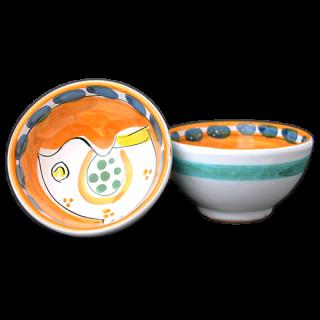 Bowl 9cm -トリ-(オレンジ)