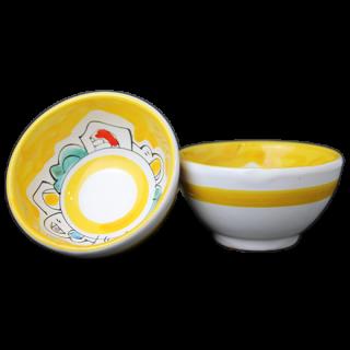 Bowl 9cm -ナイフ-(イエロー)