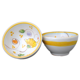 Bowl 9cm -花A-(イエロー)