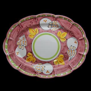 Ovale 38cm -タコB-(ピンク)