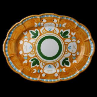 Ovale 38cm -カニ-(オレンジ)