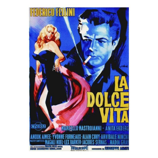<img class='new_mark_img1' src='https://img.shop-pro.jp/img/new/icons14.gif' style='border:none;display:inline;margin:0px;padding:0px;width:auto;' />【ポスター】LA DOLCE VITA