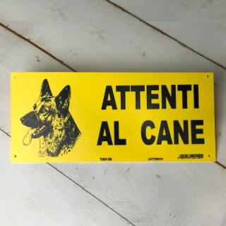 ATTENTI AL CANE(犬に注意)