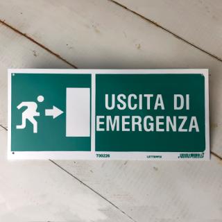 USCITA DI EMERGENZA (非常口 右)