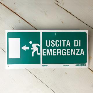 USCITA DI EMERGENZA (非常口 左)