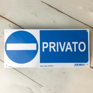 PRIVATO (私有地)