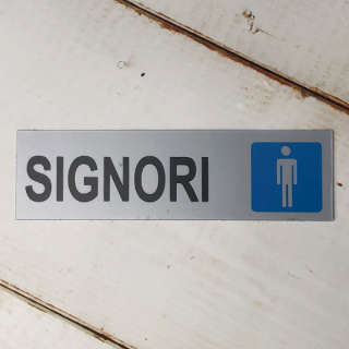 シールタイプ SIGNORI (男性用トイレ)