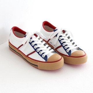 chausser ショセ レザースニーカー Y-103 tricolor トリコロール レディース メンズ 靴