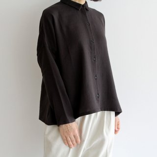 evam eva エヴァムエヴァ cotton shirt コットンシャツ E213T055 レディース
