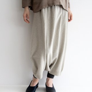 evam eva エヴァムエヴァ wool sarrouel pants ウールサルエルパンツ E213K042 レディース
