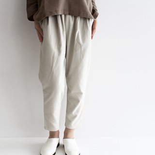 evam eva エヴァムエヴァ raising cotton easy pants ライジングコットンイージーパンツ E213T085 レディース
