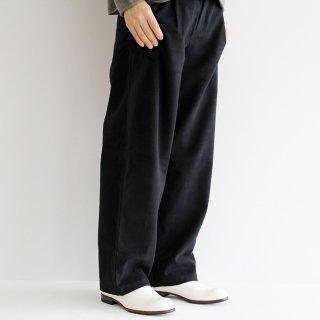 evam eva エヴァムエヴァ raising cotton wide pants ライジングコットンワイドパンツ E213T086 レディース