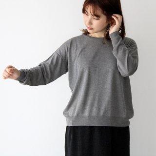 evam eva エヴァムエヴァ silk cashmere pullover シルクカシミアプルオーバー E213K069 レディース
