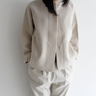 evam eva エヴァムエヴァ press wool short coat プレスウールショートコート E213K114 レディース
