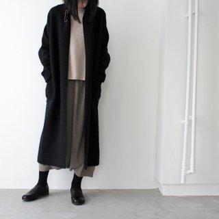 evam eva エヴァムエヴァ press wool short coat プレスウールローブコート E213K117 レディース