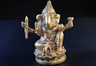 ガネーシャ像【真鍮製】/置物/ヒンドゥー/仏像・神像