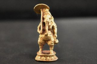 ガネーシャ神像【真鍮製】/仏像・神像/ヒンドゥー教/インド神話