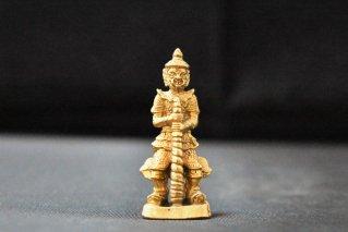ハヌマーン神像【真鍮製】/仏像・神像/ヒンドゥー教/インド神話