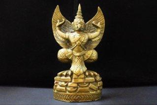 ガルーダ像【真鍮製】/仏像・神像/ヴァーハナ/神々の乗り物/ヒンドゥー教/インド神話