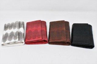ヘビ革財布【4colors】/ウォレット/サイフ/蛇/ウミヘビ/シースネーク/タイ雑貨/ハンドメイド
