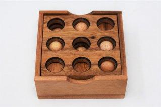 ゴルフパズル【木製パズル】/木製ゲーム/タイ雑貨/Golf_Puzzle