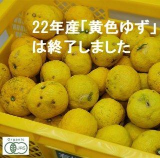 有機JAS黄色ゆず-2021年産-【良品】1.5キロ