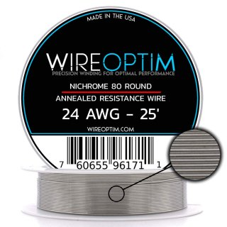 WIREOPTIM Nichrome Series 80 Resistance Wire (Even Gauges)