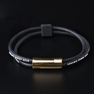 STAINLESS TWIN BRACELET(Black x White)