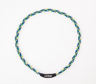 [NEW] CPG trenzado necklace  BLUE