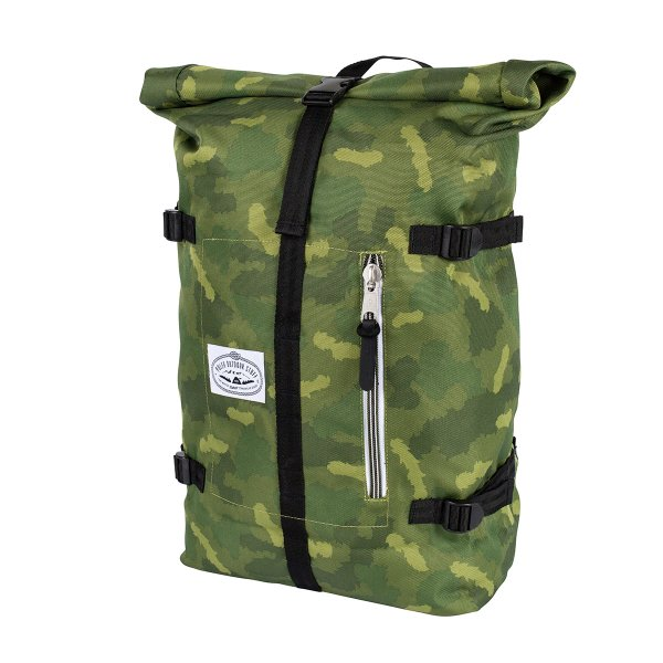 <img class='new_mark_img1' src='https://img.shop-pro.jp/img/new/icons16.gif' style='border:none;display:inline;margin:0px;padding:0px;width:auto;' />CLASSIC ROLLTOP - GREEN FURRY CAMO