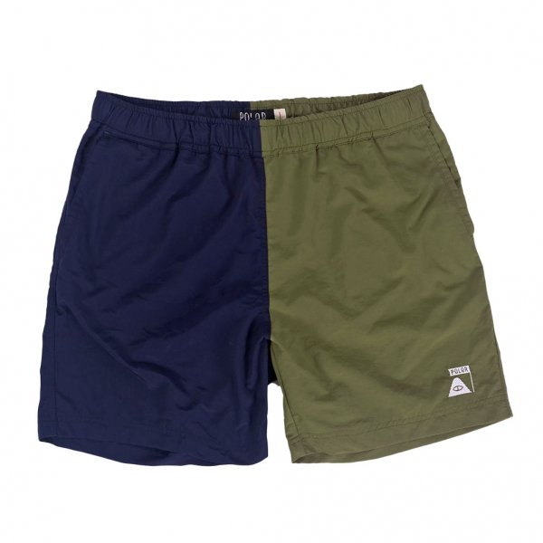 JAPAN LIMITED CAMP VOLLEY SHORT -NAVY/OLIVE-