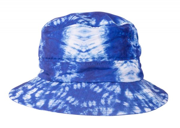 STUFFABLE BUCKET -TIE DYE BLUE