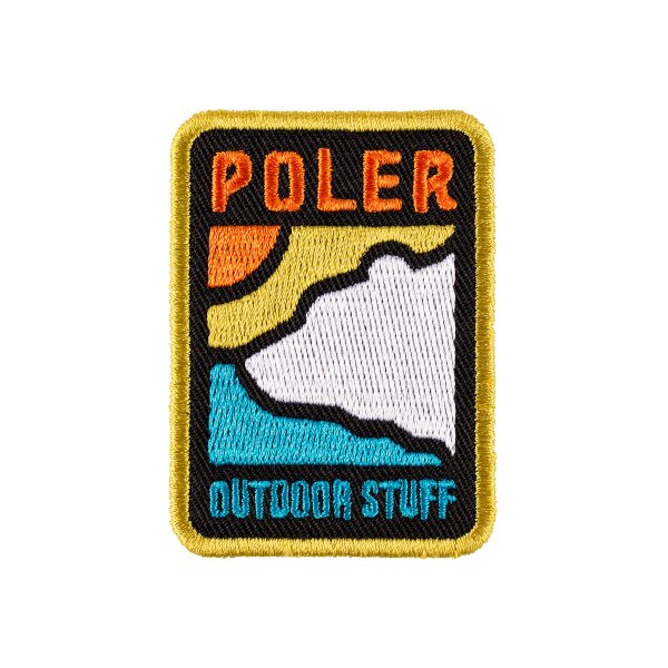 GEO BEAR IRON-ON PATCH