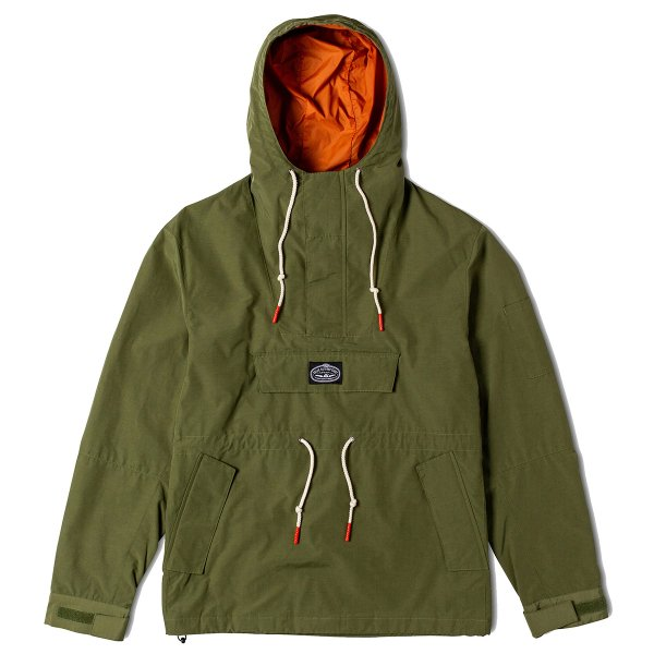 <img class='new_mark_img1' src='https://img.shop-pro.jp/img/new/icons16.gif' style='border:none;display:inline;margin:0px;padding:0px;width:auto;' />PINE ANORAK JACKET - OLIVE