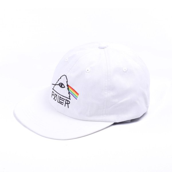 PSYCHEDELIC 6PANEL CAP - OFF WHITE