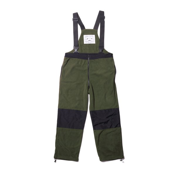 <img class='new_mark_img1' src='https://img.shop-pro.jp/img/new/icons16.gif' style='border:none;display:inline;margin:0px;padding:0px;width:auto;' />MILITARY FLEECE OVERALL - OLIVE/BLACK