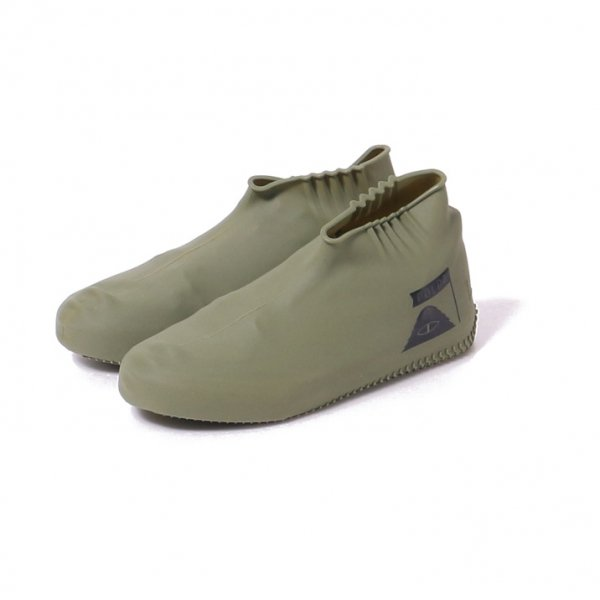 SILICON RAIN SHOES COVER - OLIVE