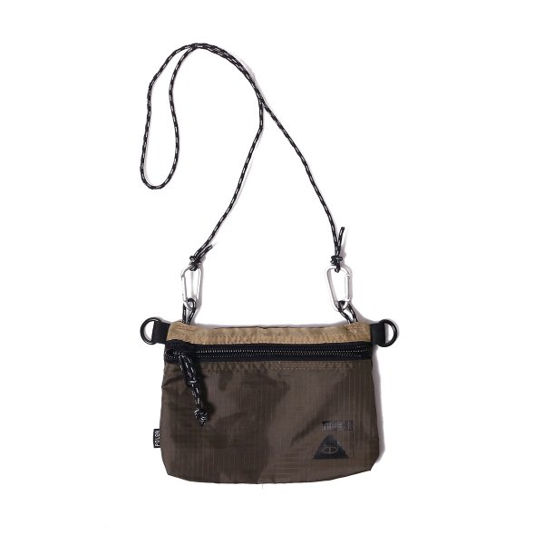 STUFFABLE POUCH SMALL - BEIGE/OLIVE