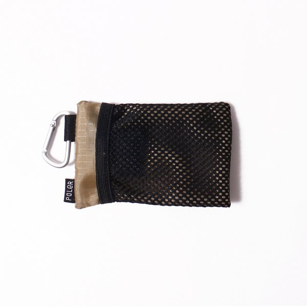 ZIPPER WALLET - PURPLE/BEIGE