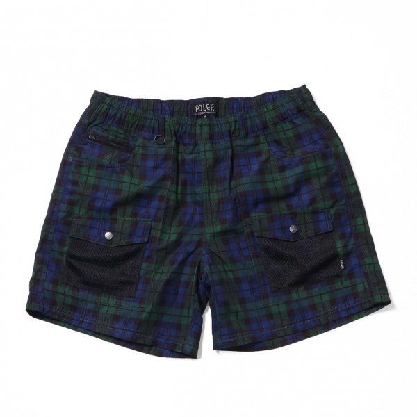 <img class='new_mark_img1' src='https://img.shop-pro.jp/img/new/icons16.gif' style='border:none;display:inline;margin:0px;padding:0px;width:auto;' />CAMP VOLLEY 2WAY MESH SHORTS - BLACKWATCH