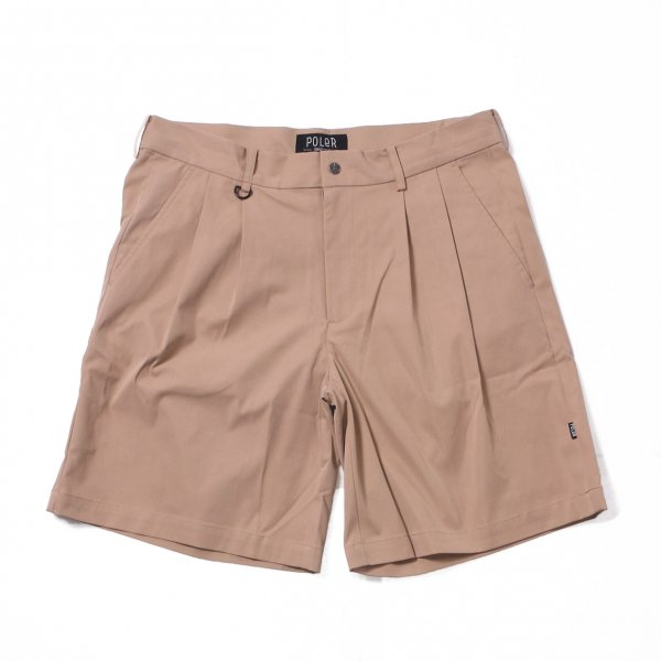 SKATE BAGGY CHINO SHORTS - BEIGE