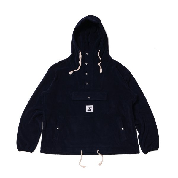 <img class='new_mark_img1' src='https://img.shop-pro.jp/img/new/icons16.gif' style='border:none;display:inline;margin:0px;padding:0px;width:auto;' />RELAX PILE ANORAK HOODIE - NAVY