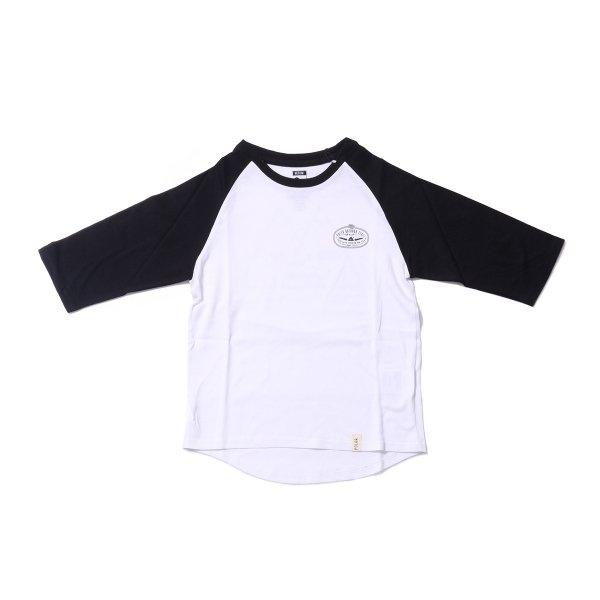 KIDS 7/10 VENDIAGRAM TEE - BLACK/WHITE