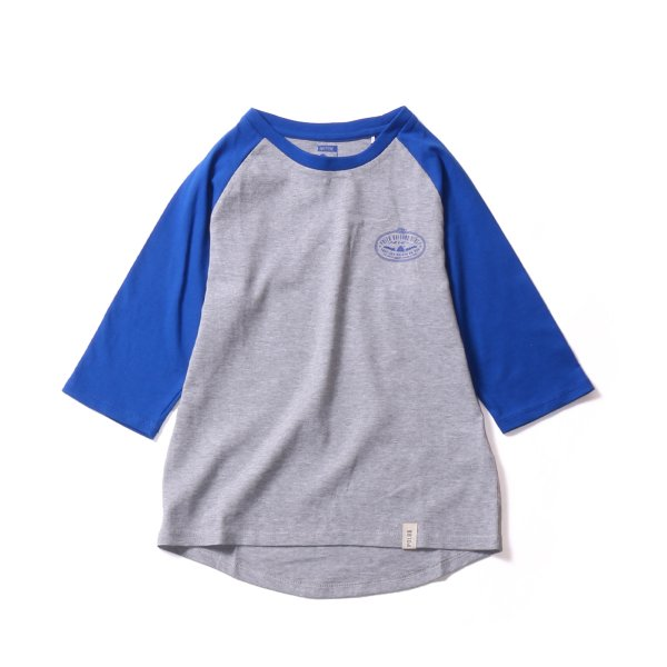 <img class='new_mark_img1' src='https://img.shop-pro.jp/img/new/icons16.gif' style='border:none;display:inline;margin:0px;padding:0px;width:auto;' />7/10 VENN DIAGRAM RAGLAN TEE - NAVY/HEATHERGRAY