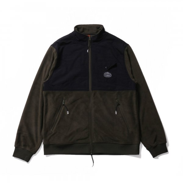 CEDAR FLEECE - OLIVE/BLACK