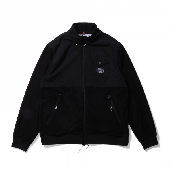 CEDAR FLEECE - BLACK/BLACK